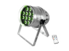 Eurolite LED PAR-64 HCL 12x10W Floor sil