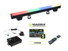 Eurolite Set 10x LED PT-100/32 Pixel DMX Tube + MADRIX Software + KEY