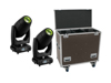 Set 2x DMH-300 CMY Moving-Head + Case