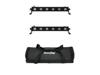 Set 2x LED BAR-6 QCL RGBA + Soft Bag