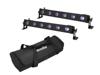 Set 2x LED BAR-6 UV Leiste + Soft-Bag