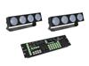 Set 2x LED CBB-4 + DMX LED Color Chief Controller
