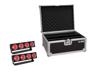 Set 2x LED CBB-4 COB RGB Bar + Case