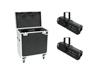 Set 2x LED PFE-100 RGBW + Case