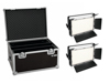 Set 2x LED PLL-360 3200K Panel + Case