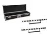 Set 2x LED STP-10 Sunbar 3200K 10x5W Light Bar + Case