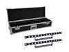 Set 2x LED STP-7 Beam/Wash Bar + Case