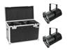 Eurolite Set 2x LED THA-100F MK2 Theater-Spot + Case