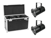 Set 2x LED THA-100F Theater-Spot + Case
