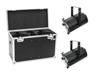 Set 2x LED THA-120PC Theater-Spot + Case