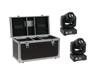 Set 2x LED TMH-17 Spot + Case