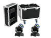 Set 2x LED TMH-75 Hybrid + Case