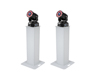 Set 2x Stage Stand 100cm + 2x LED TMH-75 COB