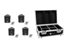Eurolite Set 4x AKKU TL-3 TCL QuickDMX + Case with charging function