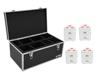 Eurolite Set 4x AKKU TL-3 TCL white + Case TDV-1