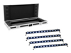 Eurolite Set 4x LED BAR-12 QCL RGB+UV Bar + Case