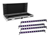 Set 4x LED BAR-12 UV Bar + Case