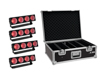 Set 4x LED CBB-4 COB RGB Bar + Case