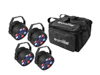 Eurolite Set 4x LED PARty Spot + Soft-Bag