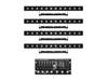 Set 4x LED PIX-12 HCL + Controller