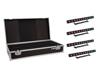 Set 4x LED PIX-12 HCL Bar + Case