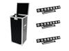 Eurolite Set 4x LED PMB-8 COB RGB + Case
