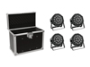 Eurolite Set 4x LED SLS-180 + Case EC-SL4M size M