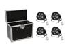 Set 4x LED SLS-603 + Case EC-SL4M size M