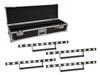 Eurolite Set 4x LED STP-10 Sunbar 3200K 10x5W Light Bar + Case