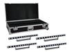 Set 4x LED STP-7 Beam/Wash Bar + Case