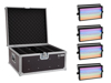 Set 4x LED Super Strobe ABL + Case