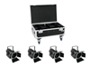 Eurolite Set 4x LED THA-60PC + Case