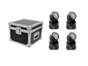 Set 4x LED TMH-7 + Case