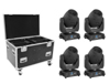 Set 4x LED TMH-X12 + EU Case