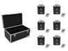 Set 6x AKKU TL-3 TCL Trusslight QuickDMX + Case TDV-1