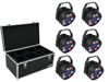 Eurolite Set 6x LED PARty Spot + Case TDV-1