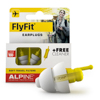 Alpine Hearing Protection FlyFit earplugs with minigrip