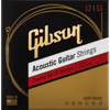 Gibson Gear Coated 80/20 Bronze Acoustic Guitar Strings | Light