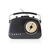 Nedis FM-radio 4.5 W Black