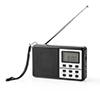 Nedis FM-radio 1.5 W Black