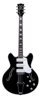 BC-S66-BK Bobcat Guitar Black