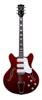 Vox BC-S66-CR Bobcat guitar Cherry red