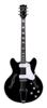 BC-V90-BK Bobcat guitar black