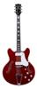 BC-V90-CR Bobcat guitar Cherry red