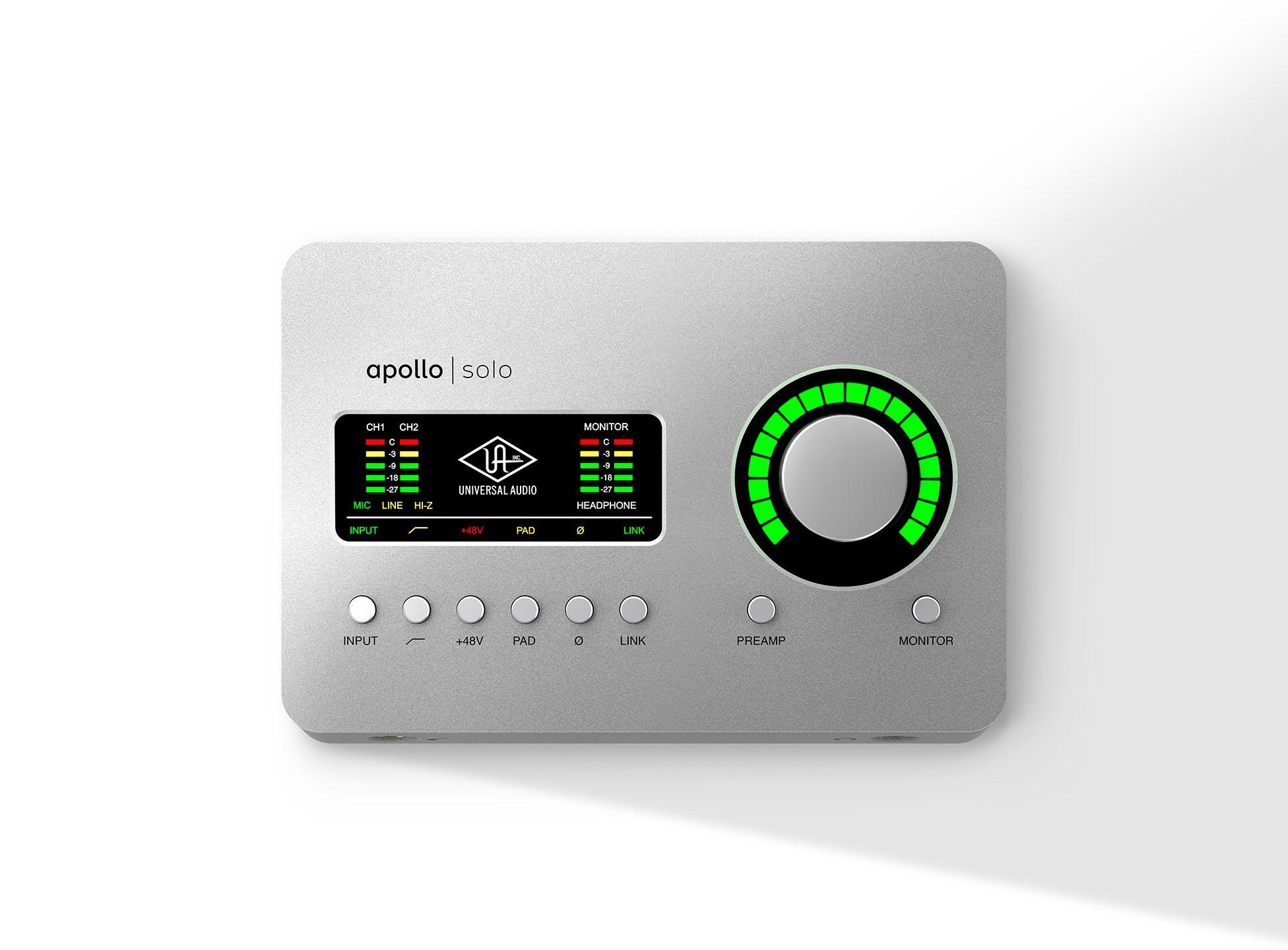 Universal Audio Apollo Solo USB Heritage Edition [+Free UDG Bag]
