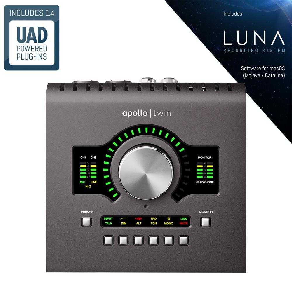 Universal Audio Apollo Twin MkII Duo Heritage Edition [+Free UDG Bag]