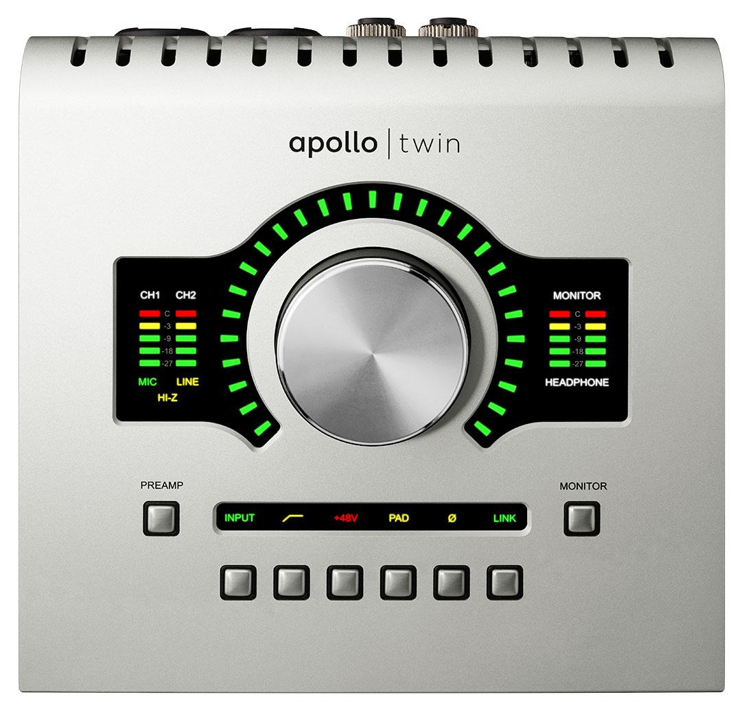 Universal Audio Apollo Twin USB Duo Heritage Edition [+Free UDG Bag]