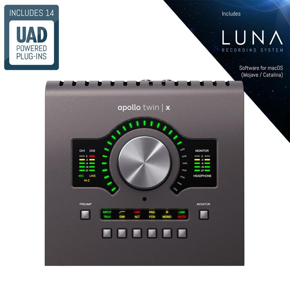 Universal Audio Apollo Twin X QUAD Heritage Edition [+Free UDG Bag]