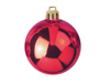 Deco Ball 7cm, red 6x