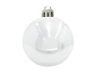 Deco Ball 7cm, white 6x